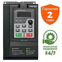 Преобразователь частоты на 2.2 кВт FRECON - FR100-2S-2.2B - Входное напряжение: 1-ф 220V