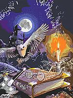 Схема для бисера А-2 Книга волшебства Хогвардс