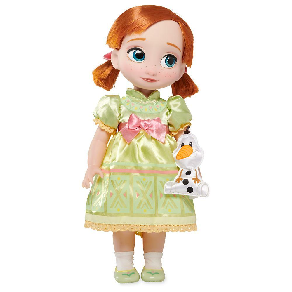 Новинка! Кукла Дисней Анна Аниматор Disney Animators' Collection Anna Doll  Frozen