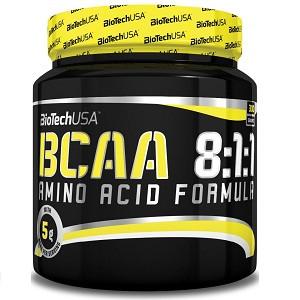 Аминокислоты (БЦАА) Biotech USA 100% BCAA 8:1:1 (300 грамм.)