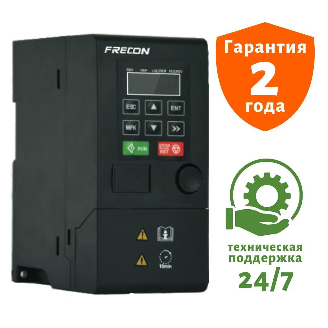 Перетворювач частоти на 1.5 кВт FRECON - FR150-4T-1.5 B - Вхідна напруга: 3-ф 380V