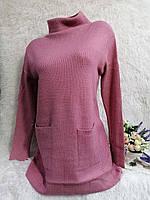Женское платье-туника с разрезами размер норма 42-44 цвет уточняйте при заказе