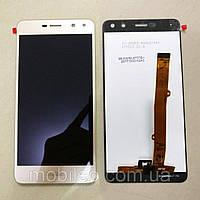 Дисплей (LCD) Huawei Y5 (2017) Y5 iiI MYA- L22 MYA-U29 с тачскрином, золотой ориг. к-во
