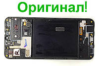 Дисплейный модуль б/у Samsung Galaxy A30s A307 2019 GH82-21190A оригинал Super Amoled