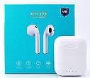 Беспроводные сенсорные наушники TWS KD10 Bluetooth (беспроводной заряд) (Белый), фото 4