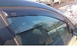 ДефДефлектори вікон вставні Citroen C5 5D 2000->  4шт/ LTB, фото 3