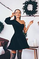 Платье женское вечернее бархат