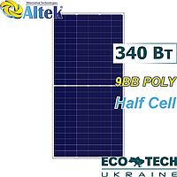 Солнечная панель Altek ALM-340P-144 (Half-Cell), 9BB Poly