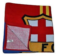 Рушник пляжний з футбольною символікою