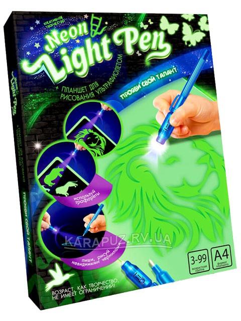 """Набір креативної творчості """"NEON LIGHT PEN"""" малюванняультрафіолетом"""
