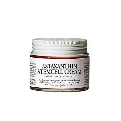 Омолаживающий гель-крем со стволовыми клетками растений Graymelin Astaxanthin Stemcell Cream, 50 мл, фото 2
