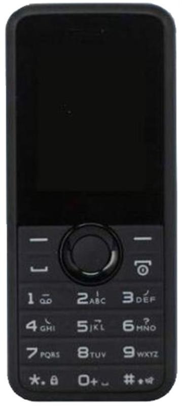 "Мобильный телефон Philips Xenium E106 Dual Sim Black; 1.77"" (160х128) TN / клавиатурный моноблок / 32 МБ встроенной + microSD до 16 ГБ / без камеры /"