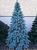 Искусственная елка Литая Премиум голубая 2.10 м.