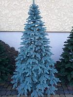 Искусственная елка Литая Премиум голубая 2.10 м., фото 1