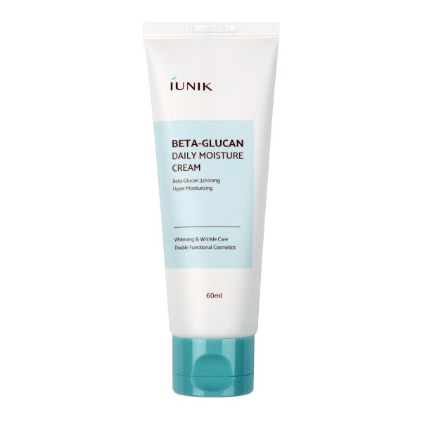 Крем с бета-глюканом IUNIK Beta Glucan Daily Moisture Cream, 60 мл.