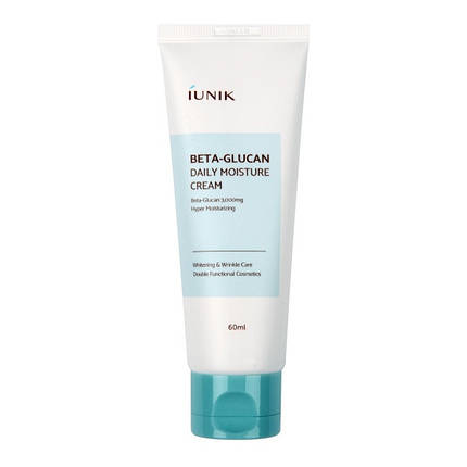 Крем с бета-глюканом IUNIK Beta Glucan Daily Moisture Cream, 60 мл., фото 2