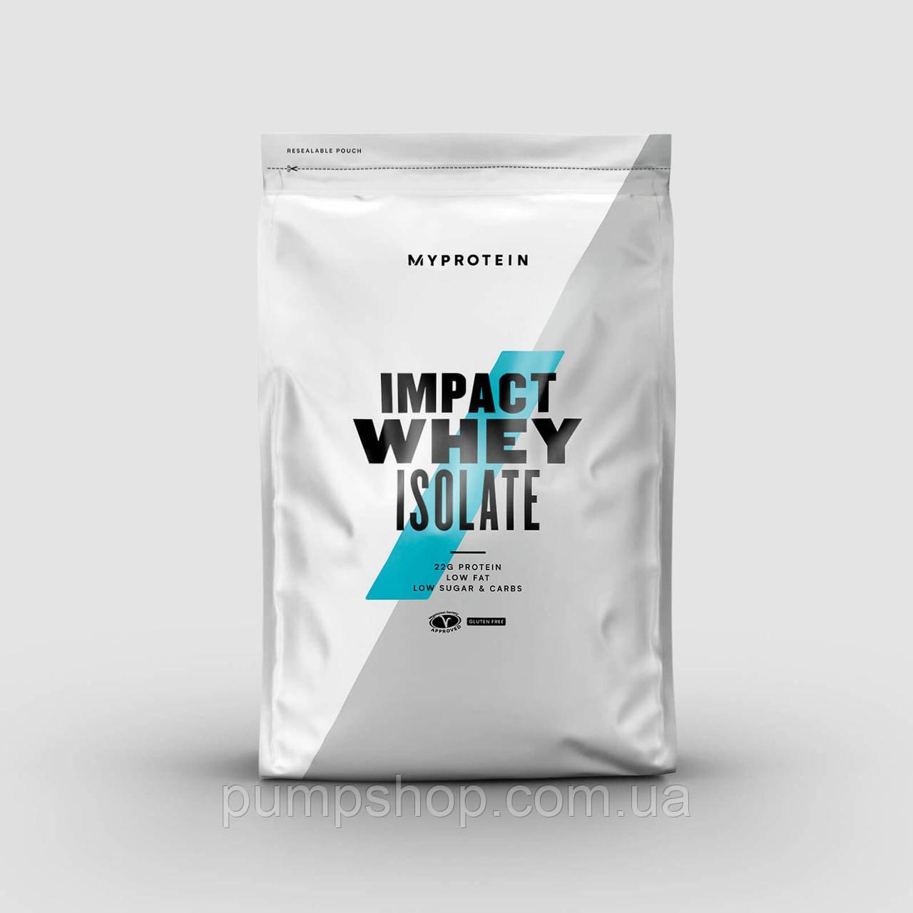 Сыровоточный ізолят MyProtein Impact Whey Isolate 2500 г (100 порц.)