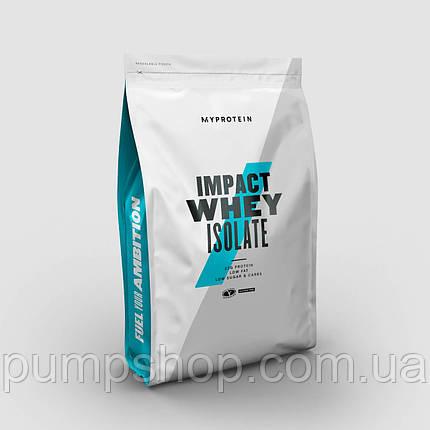 Сыровоточный ізолят MyProtein Impact Whey Isolate 2500 г (100 порц.), фото 2