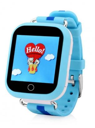 Детские умные смарт часы с GPS Smart Baby Watch Q100 Blue(Голубой)