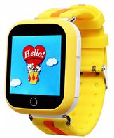 Детские умные смарт часы с GPS Smart Baby Watch Q100 Yellow(Желтый)
