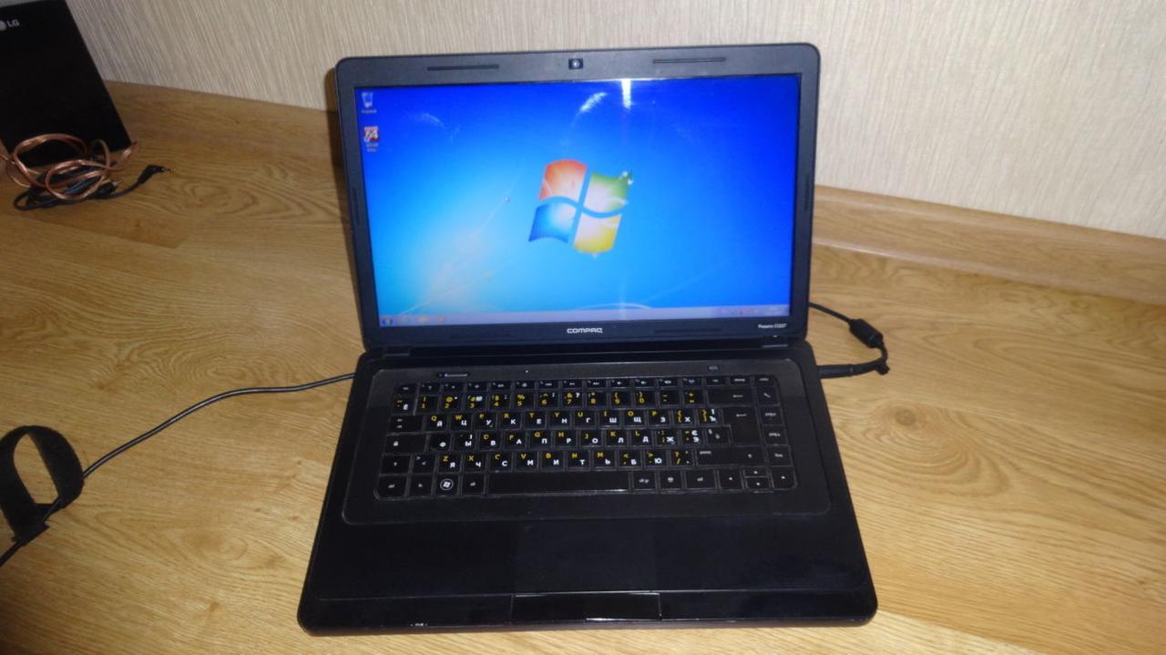Ноутбук, notebook, HP Compaq Presario CQ57, 2 ядра по 1.0 Ггц, 4 Гб ОЗУ, HDD 320 Гб