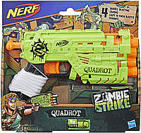Бластер Нерф Зомби Страйк Квадрот Hasbro Nerf Zombie Strike QUADROT E2673