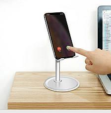 Подставка для телефона и планшета Holder - I   Серебристая, фото 3