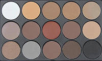 Палитра матовых теней Julia Cosmetics 01