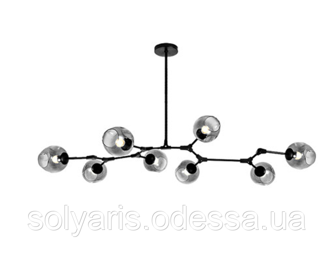 Люстра молекула 8