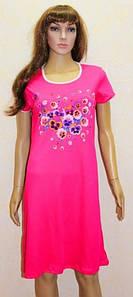 Длинное платье для дома разных цветов Незабудка 44-58 р