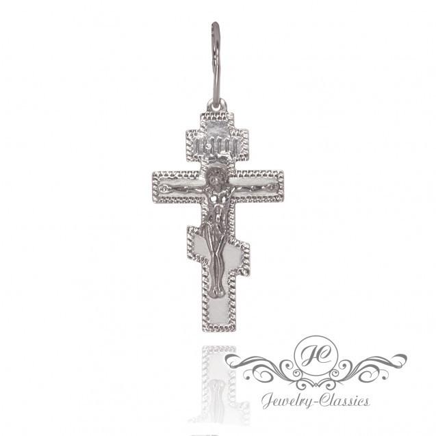 Крест серебряный Арт. P7143