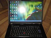 Ноутбук, notebook, Lenovo ThinkPad T500, 2 ядра, 4 Гб ОЗУ, HDD 320 Гб