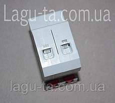Автоматический выключатель двухполюсный 10А, фото 2