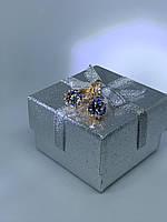 Серьги из медзолота Xuping с покрытием 18к