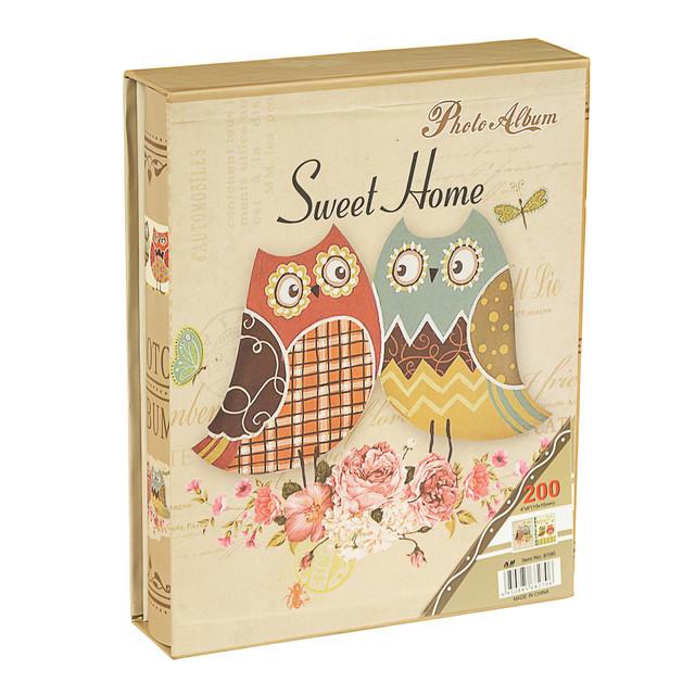 """Альбом для фотографий """"Sweet Home"""" (200 фото 13х18)"""