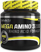 Аминокислотный комплекс в таблетках Biotech USA Mega Amino 3200 300 таб. (75 порц.)