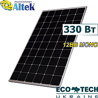 Солнечная панель Altek ALM-330M-60, 12BB Mono