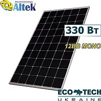 Сонячна панель Altek ALM-330M-60, 12BB Mono