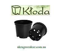Горшок для рассады 0,45 л (10,5x7,9),черный, 500 шт/уп (пр. Польша Kloda)