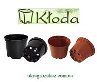 Горшок для рассады 2 л (17x13,5) черный 50 шт/уп (пр. Польша Kloda)