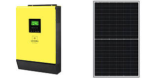 Гібридна сонячна електростанція 3кВт 230В