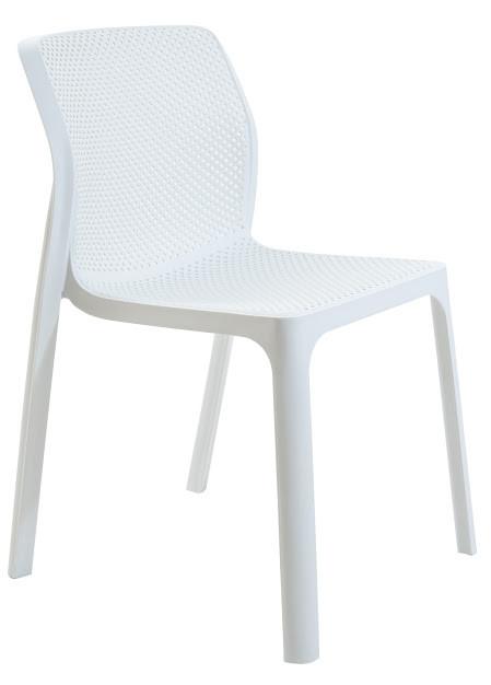 Стілець пластиковий Пронто білий ТМ Richman