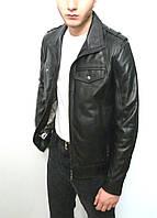 Мужская куртка Eleganza из натуральной кожи. Модель DEALER размер L