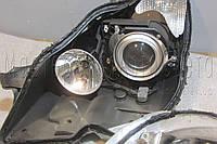Mercedes-Benz CLS (W219) - замена ксеноновых линз на светодиодные Bi-LED линзы, фото 1