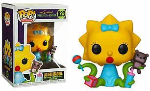 Фигурка Funko Pop Фанко Поп Симпсоны Пришелец Мэгги Simpsons Alien Maggie 10 см S AM 823