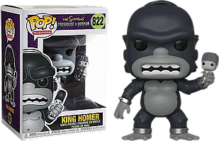 Фигурка Funko Pop Фанко Поп Симпсоны Кинг Гомер Simpsons King Homer 10 см S KG 822