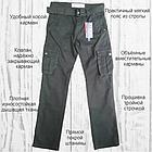 Джинсы мужские ITENO (Tophero) оригинал р.36 прямые серые весна/осень (есть другие цвета), фото 6