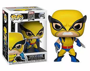 Фигурка Funko Pop Фанко Поп Марвел 80-х Росомаха Marvel 80th Wolverine 10 см XM W 547