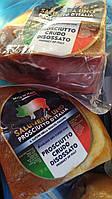 Прошутто Крудо Prosciutto Crudo Salumeo сыровяленая ветчина кусочки по 0,900 - 1,300 кг.