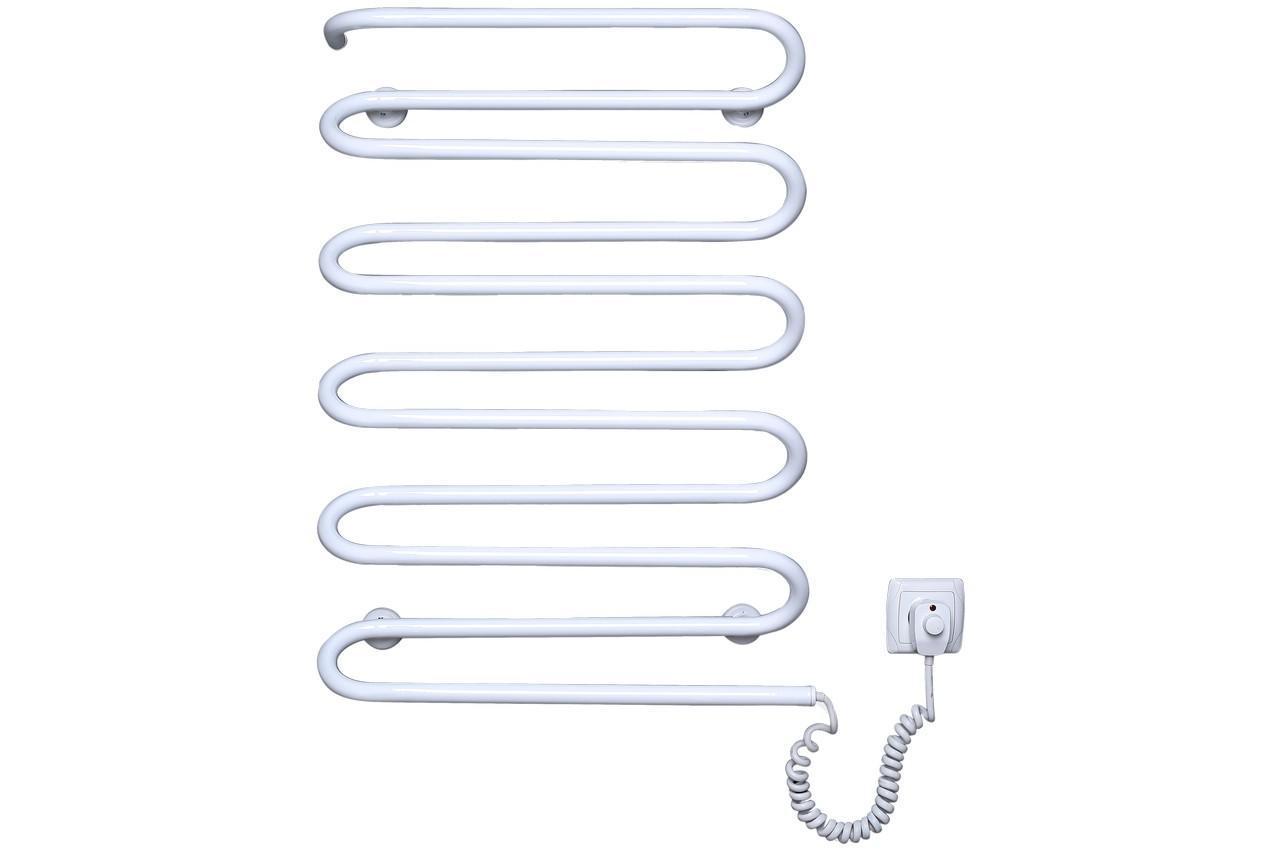 Полотенцесушитель электрический Элна - волна 11 с регулятором (б-л)